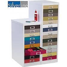 Silverline Filing Cabinet Silverline Kaleidoscope Multi Drawer Cabinets 120 Filing