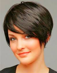 short layered hair style for full face pixie haircuts for round faces google search hair pinterest