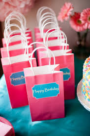 party favor bags hot pink birthday party favor bags the sweetest occasion