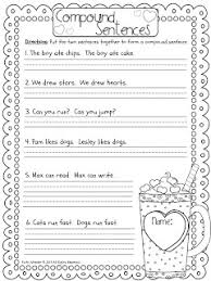 ideas of free compound sentences worksheets for your download