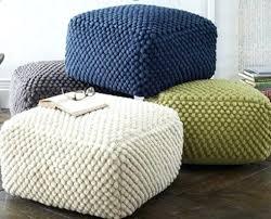 knitted pouf ottoman target ottoman knit ottoman pouf target crochet ottoman pouf crochet