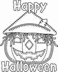 happy halloween coloring pages with regard to really encourage to