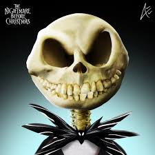 jack portrait the nightmare before christmas by andersiano