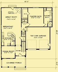 colonial floor plans colonial style house plans for a simple 3 bedroom home