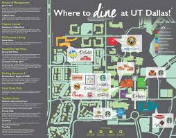Dallas Map Program by Dining Services Auxiliary Services The University Of Texas At