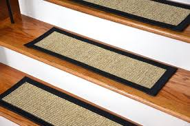 dean attachable non skid sisal stair treads set of 13