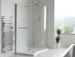 900mm Shower Door Chlain Ii Curved Walk In Shower Enclosure 1350 X 900mm