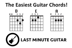 6 incredibly easy songs to play on the guitar just d e and a