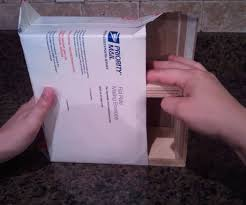 make 4 75 usps flat rate shipping box 5 steps