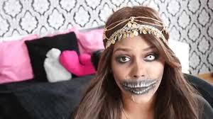 bohemian princess of the dead halloween makeup tutorial ft