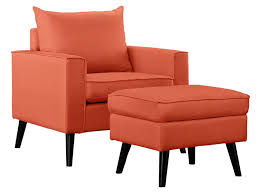 Orange Accent Chair 100 Fabulous Accent Chairs With An Ottoman For 2017