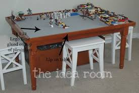 diy make a lego table and paint a camoflauge wall the idea room