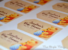 winnie the pooh baby shower decorations winnie the pooh and friends baby shower the simple things