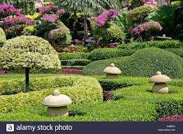 Nong Nooch Tropical Botanical Garden by Pattaya Nong Nooch Village Stock Photo Royalty Free Image