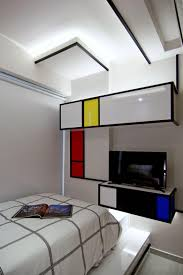 Modern Pop Art Style Apartment by Vivid Apartment In Singapore Inspired By Pop Imagery Street Art