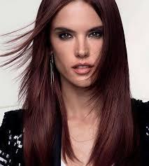 Frisuren Lange Haare Herzf Miges Gesicht by Edle Mahagoni Haarfarbe Nuancen Styling Ideen Und Pflegetipps