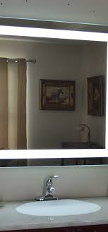 Lighted Mirror Bathroom Lighted Bathroom Wall Mirror Complete Ideas Exle