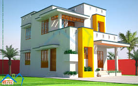 Design My House Plans 4bhk Floor Plan And Elevation In 5 Cent Kerala Home Design Nice M