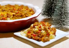 sausage hash brown casserole christmas youtube