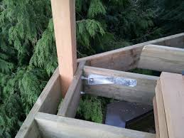 how to fix a deck railing that is falling off home improvement