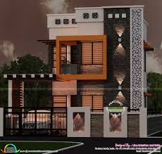 flat roof single floor home with stair room kerala design in