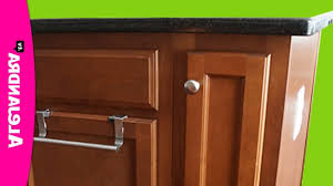 Narrow Cabinet For Kitchen by How To Organize A Narrow Kitchen Cabinet U2013 Youtube For Lovely
