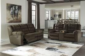 sofa bed recliner mort umber reclining sofa u0026 double reclining loveseat w