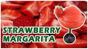 strawberry margarita frozen strawberry margarita erdbeer margarita selber machen