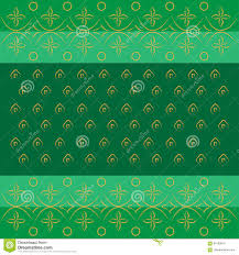 types of green color bandhani bandhej indian traditional pattern in green stock vector