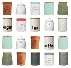 yellow tea and coffee jars 1c1 info