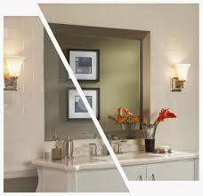 bathroom beach style bathroom design with double sink vanity and