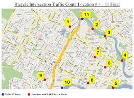 Dart Map Volunteer For Dart U0027s 3rd Annual Bicycle Count In Wilmington Bike