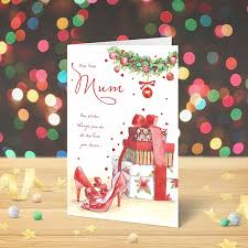 christmas card for you mum gifts garlanna greeting cards