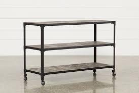 Metal Sofa Table Proton Sofa Table Living Spaces