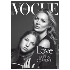 moss and kate moss and lila grace cover vogue italia vogue australia