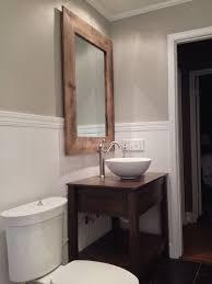 reclaimed wood bathroom mirror 87 most superlative reclaimed wood double vanity distressed bath