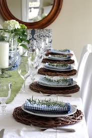 Table Setting Chargers - setting the perfect summer table and a tabletop giveaway