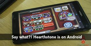 hearthstone android hearthstone gets an unofficial android port android community