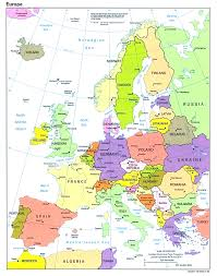 Brussels Europe Map by Europe Maps For Alluring Map Op Europe Evenakliyat Biz