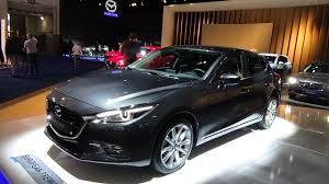 mazda automobile 2017 mazda 3 exterior and interior auto show brussels 2017