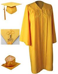 black graduation cap and gown graduation cap and gown set matte black in