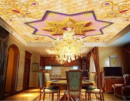 le plafond chambre relief or papiers peints décor à la maison plafond 3d papier peint