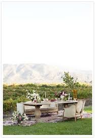 Outdoor Cer Rug Mislay S Vintage Outdoor Wedding Decor The Dining Area Was