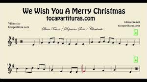 merry christmas sheet music tenor saxophone