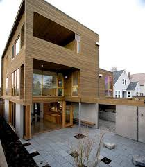 wood interior homes modern house design with warm wooden interiors and modernist feel