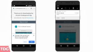 install amazon store on any android amazon underground