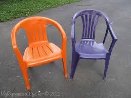 White Plastic Patio Chairs Spray Paint Plastic Chairs Plastic Patio Chairs Spray Painting