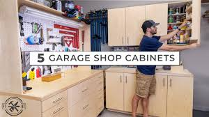 is it cheaper to build your own cabinets 5 garage shop cabinets for ultimate diy storage