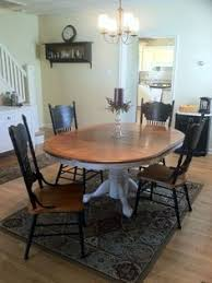 Dining Room Table Refinishing Refinished Table U0026 Chairs Would Be Perfect For My Kitchen Table