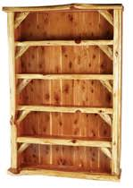 Bookcase Plan Log Bed Plans Log Furniture Plans Wood Working Plans Kits